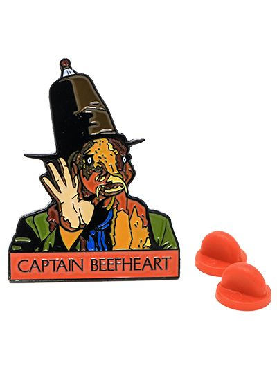 Trout Mask Replica Pin